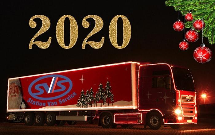 С наступившим 2020 годом! СТО Фургон Сервис - ремонт фургонов прицепов и полуприцепов в Санкт-Петербурге!