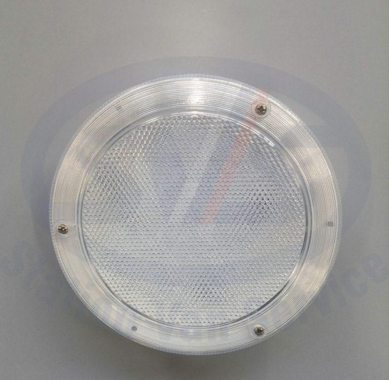 Плафон Внутреннего освещения полуприцепа большой врезной, светодиодный LED 12/24 V