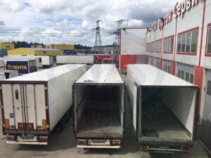 Герметизация крыши фургонов